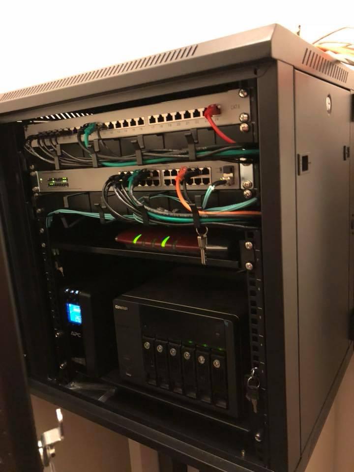 Netzwerkverteilung inkl. LWL