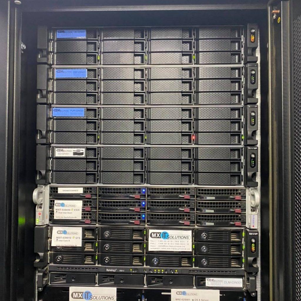 QNAP Netzwerkspeicher Rechenzentrum